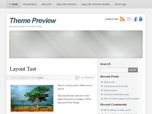 SmartOne free wordpress theme