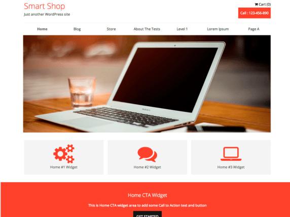 SmartShop wordpress theme
