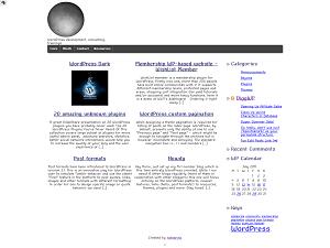 Sonne free wordpress theme