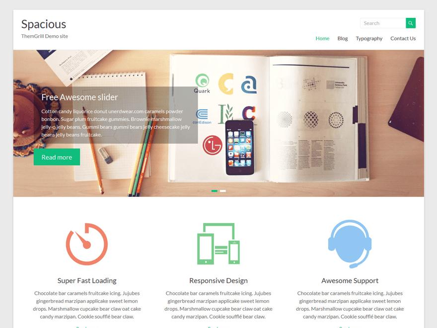 Wordpress Spacious