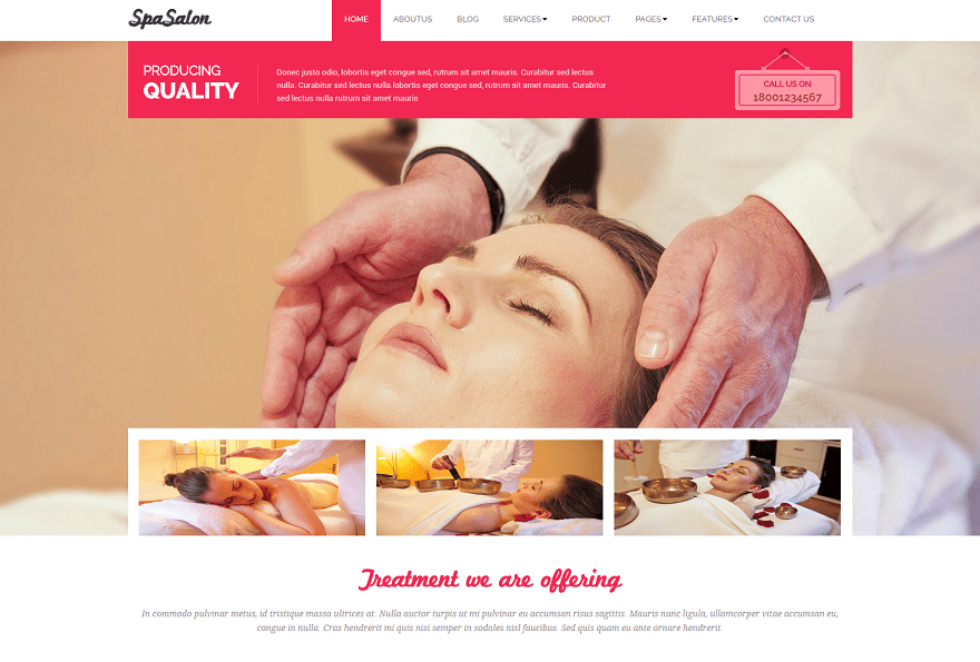 17+ Spa Beauty website Templates - Free Templates Download