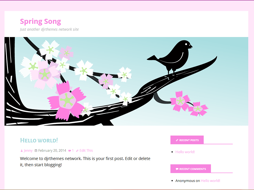 Spring Song