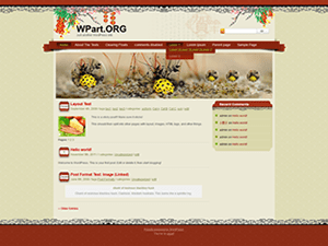 SpringFestival free wordpress theme
