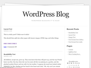 Stack free wordpress theme