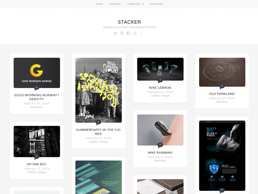 Stacker Lite free wordpress theme