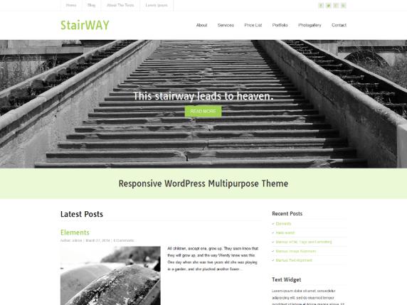 StairWay wordpress theme