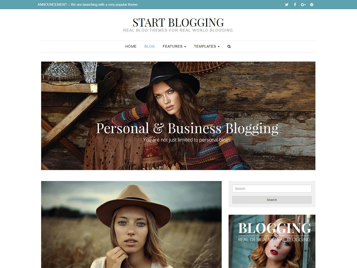 Start blogging wordpress accmission Choice Image