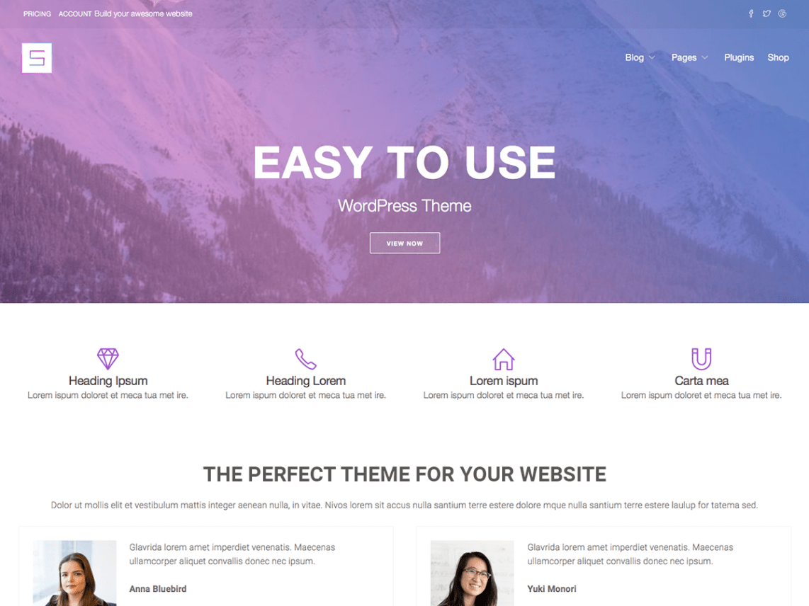 Starter wp wordpress starter wp is perfect theme for your next website lightweight and highly extendable it will enable you to create almost any type of site with a beautiful altavistaventures