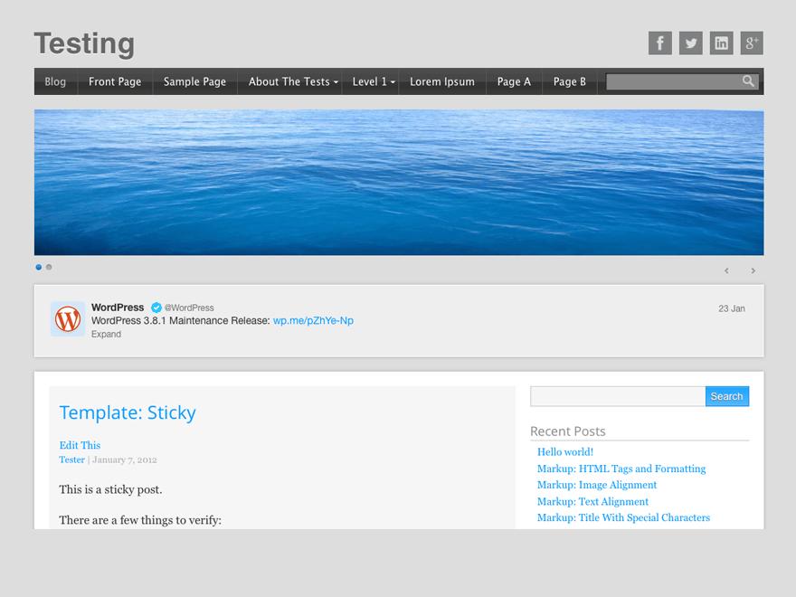 Startup free wordpress theme
