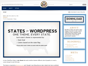States free wordpress theme
