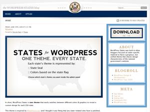 States free wordpress theme