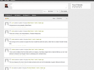 Status free wordpress theme