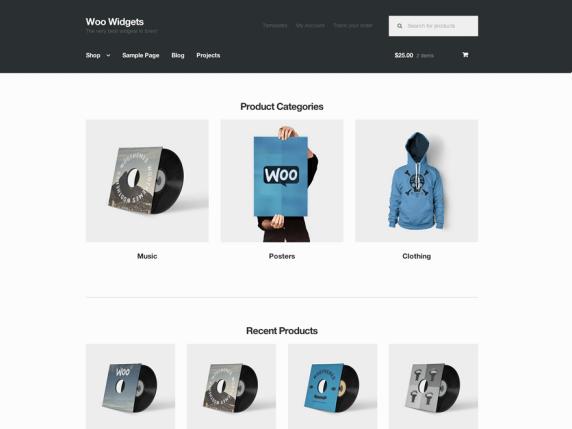 Wordpress Storefront