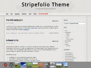 Stripefolio wordpress theme