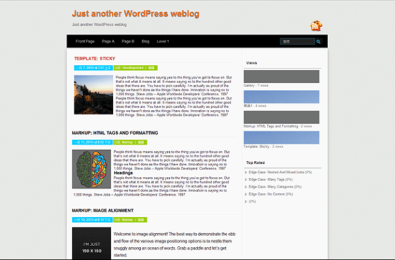 Summ wordpress theme