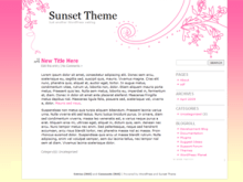 Sunset Theme