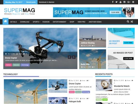 Supermag Theme | BGNBuzz