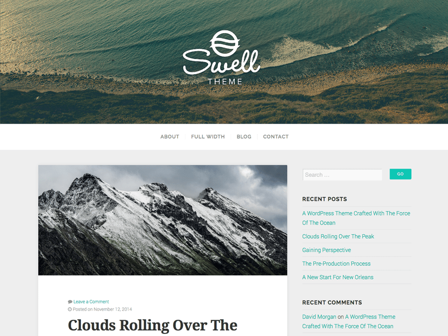 Swell Lite free wordpress theme