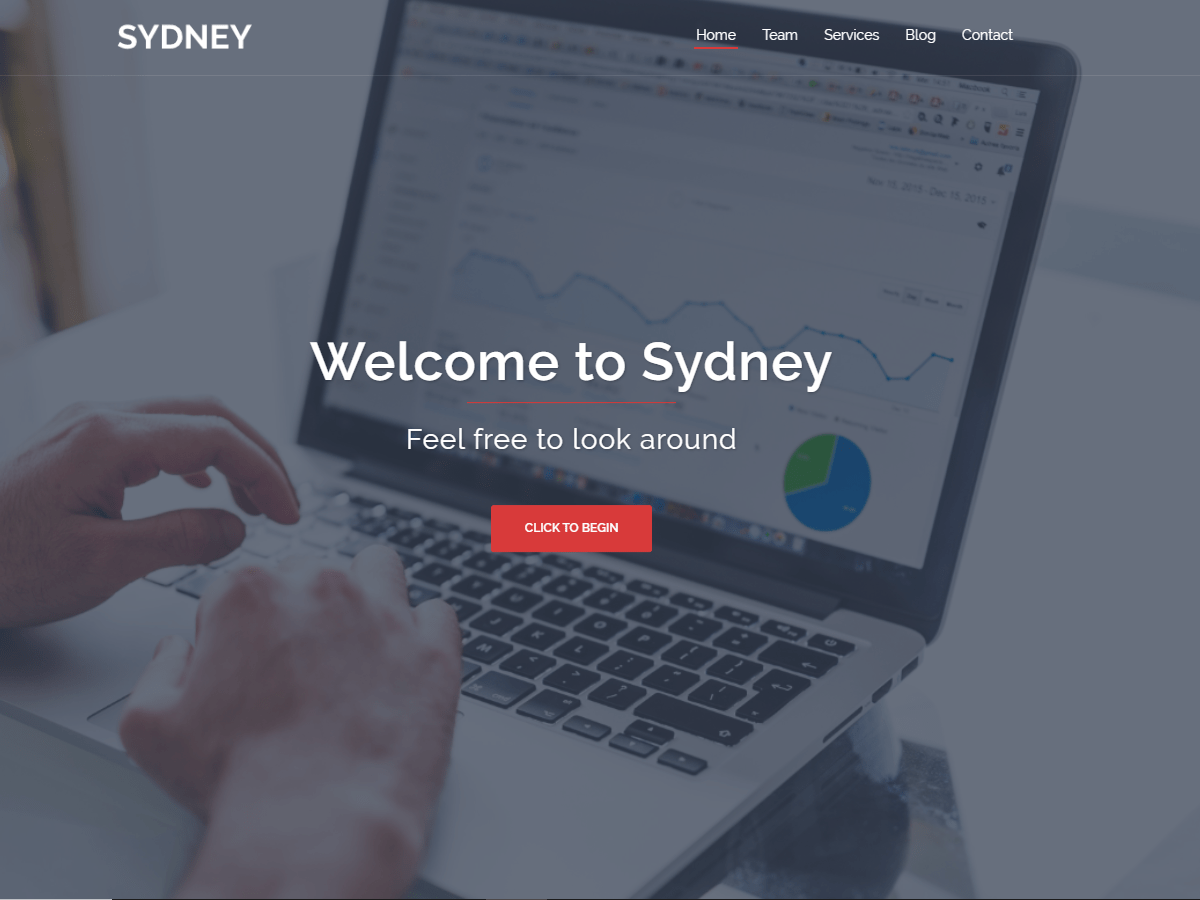 Sydney Powerful Business WordPress Theme