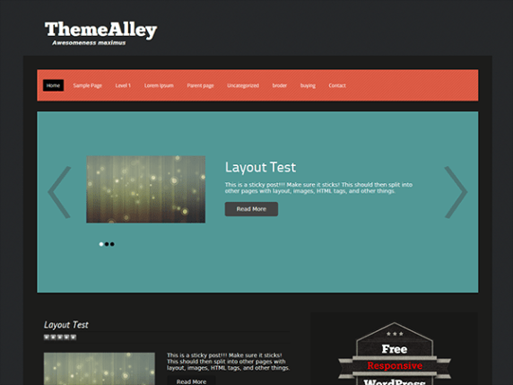 Syn wordpress theme
