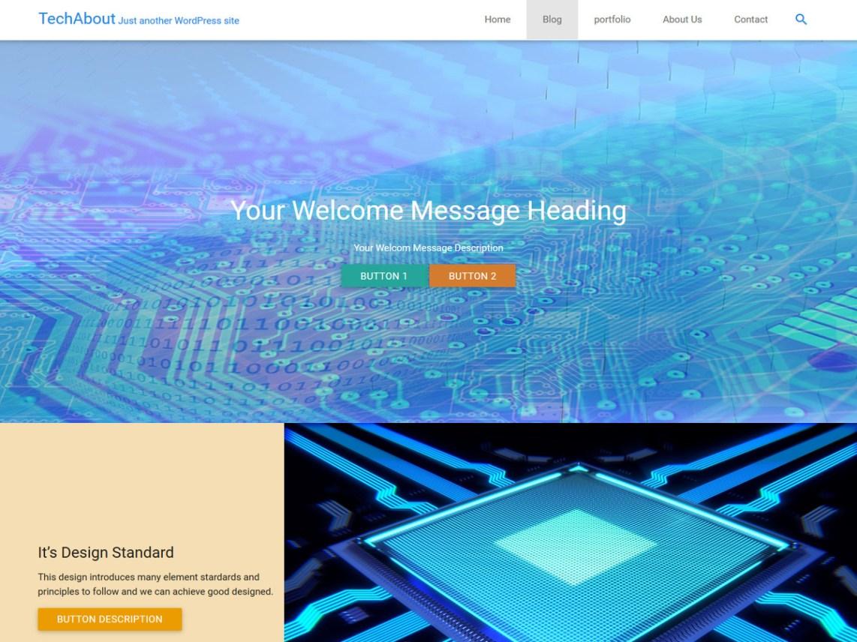 TechAbout Theme Free Download