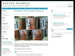 Techy People wordpress theme