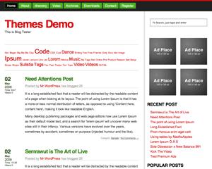 Tembesi free wordpress theme