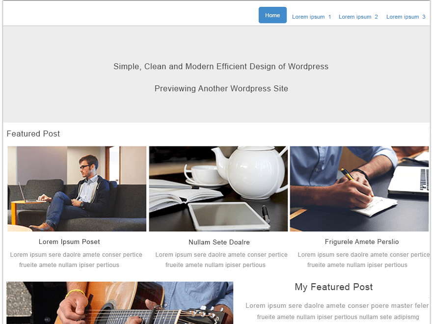 TemplateToaster free wordpress theme