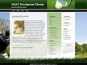 THATgolf Theme
