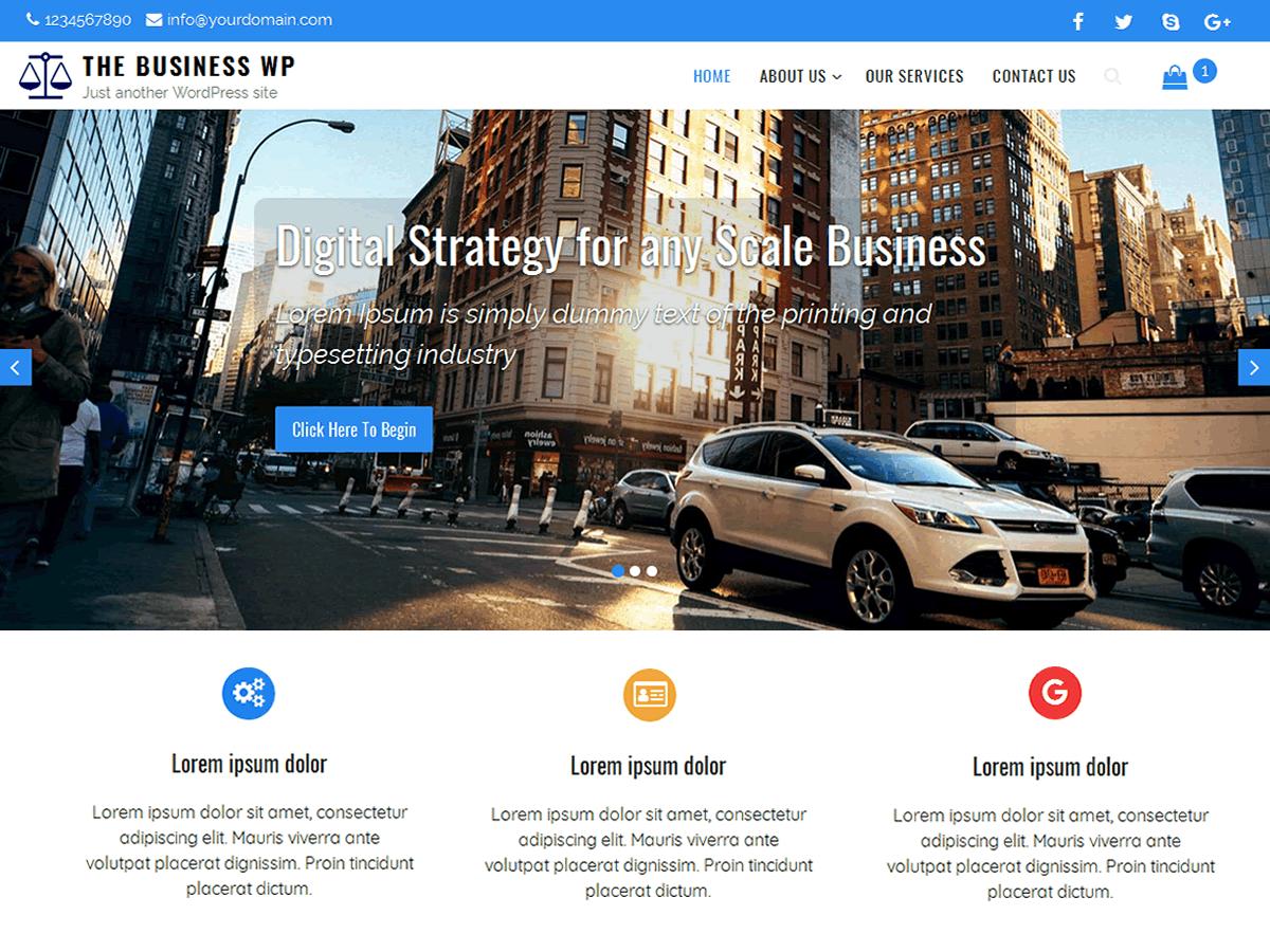 WordPress主题:The Business WP