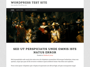 The Night Watch free wordpress theme