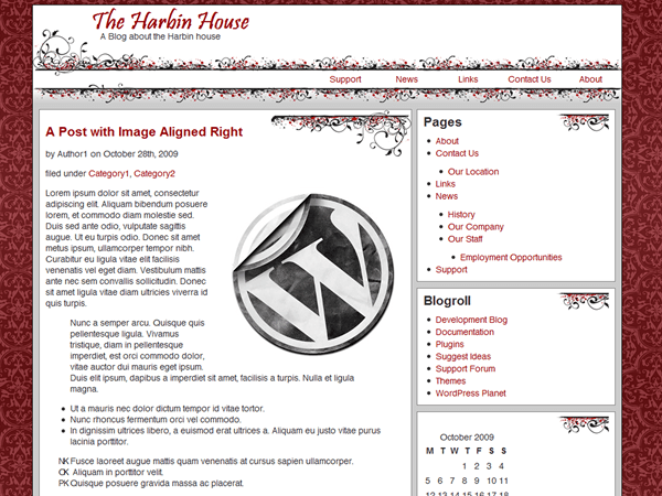 Themescapes Raider free wordpress theme
