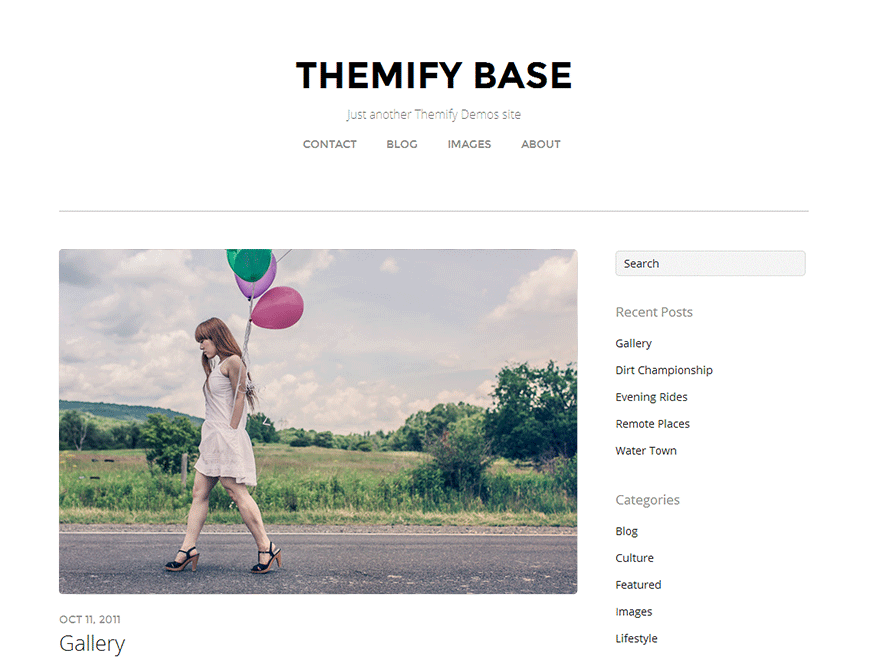 Themify Base free wordpress theme