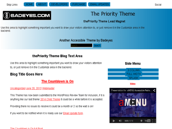 thePriority wordpress theme