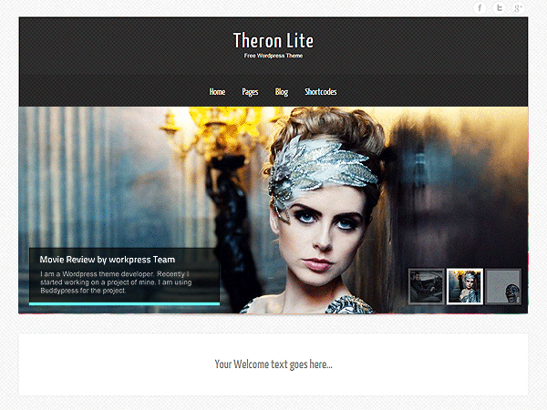 Theron Lite free wordpress theme