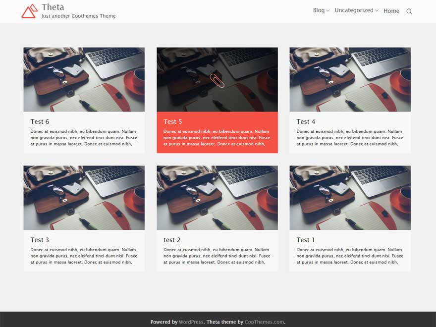 Theta By coothemes