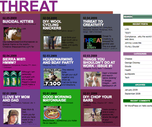 ThreatToCreativity free wordpress theme