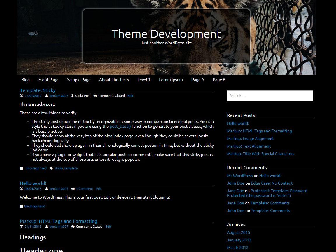 Tifology free wordpress theme