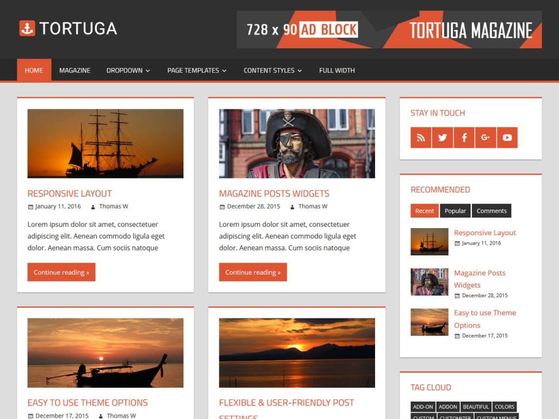 tortuga wordpress org