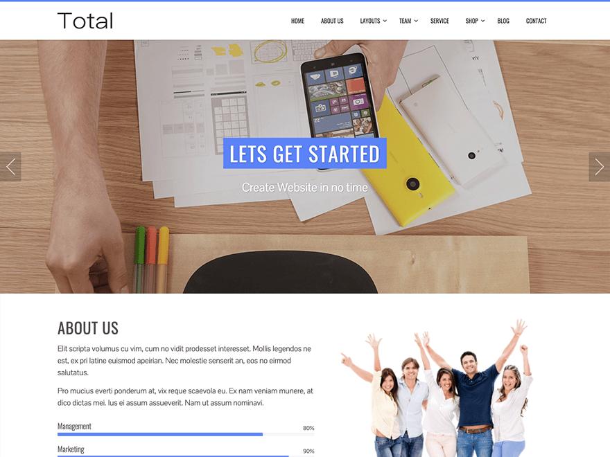 Total   WordPress.org