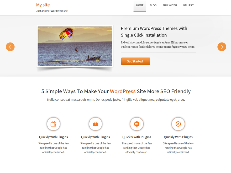 Traffica free wordpress theme