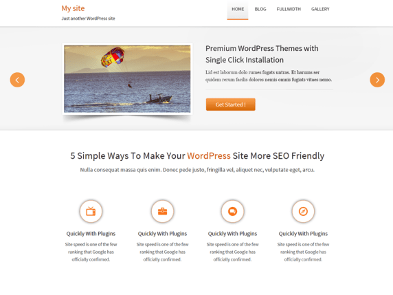 Traffica wordpress theme