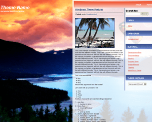 Trans-Travel free wordpress theme