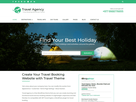 Travel Agency   WordPress.org