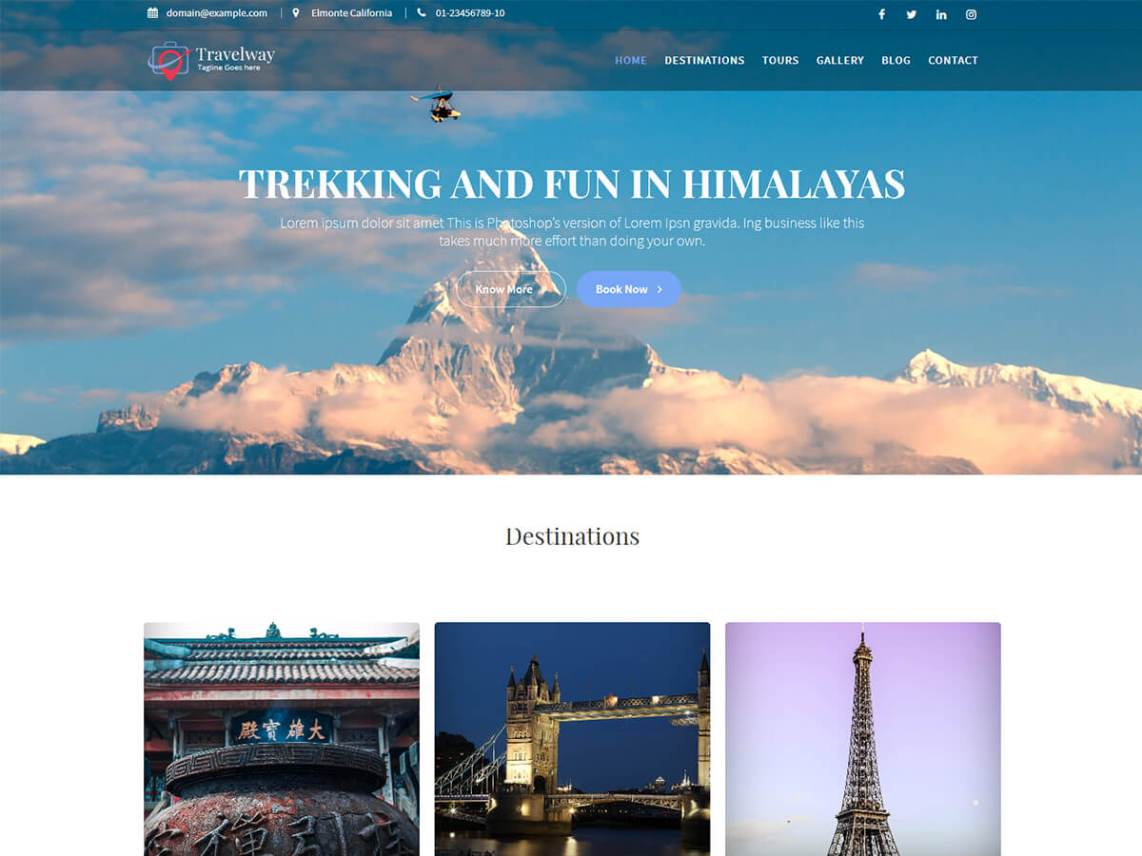 Travel Way By Acme Themes