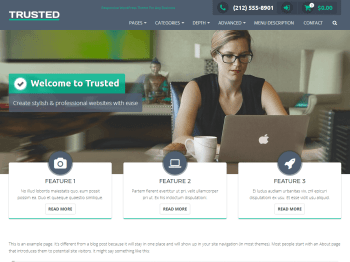 Trusted child theme