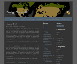 Tundra Theme free wordpress theme