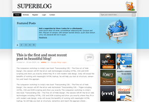 tweetsheep free wordpress theme