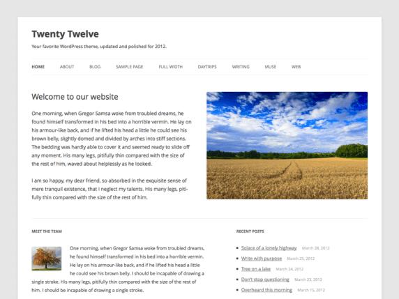 Wordpress Twenty Wordpress Twenty Twelve Theme Twelve rdBCxoe