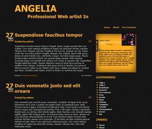 Typografia free wordpress theme